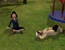 【Sims2でヘタリア】すうじぷ+ちび×2でまったりプレイ4