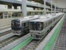 鉄道模型 ライブリー・スペース和 JR西日本+智頭急行のNゲージ走行動画