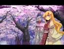 【東方風】有明の月と八重桜【自作曲】