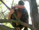 修羅パンツ 第2弾 木の上に4時間以上居座る修羅パンツ