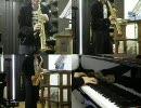 Bad Apple!!をサックスとピアノで演奏してみた