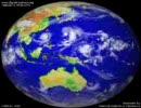 1990年 雲画像動画:全球画像