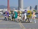【MMD】VOCALOID達が神戸の名所で踊る『ぽっぴっぽー』【実写合成】