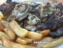 ステーキに牡蠣を詰め込んで焼こう!