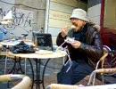 冬のカフェ