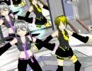 【弱音ハク3D Vol MMD3】MMD化Ver1.0配布!きしめんを躍らせてみた。