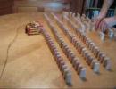 レゴで作ったドミノ自動並べ機