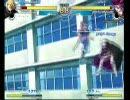 MBAA 対戦動画1 ハイスピードしろ(ワラキア)vsユウ(シオン)