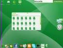 Mac OS X風ubuntu gOS