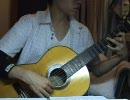 クラシックギターでAIRの『夏影』弾いてみた