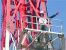 「電波を守る男達」~鉄塔登ってみた♪