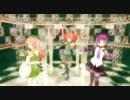 【UTAU】UTAU三人娘で「エレクトロワールド」【MMD】