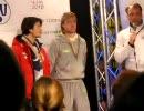 フィギュアスケート 欧州選手権 2010 男子FS表彰式 ①