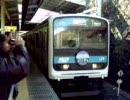 2010.1.23 209系「さよなら209系」マーク付電車②