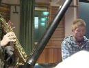 """(東方萃夢想)""""砕月""""をサックスとピアノで演奏してみた。"""