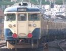 113系廃車配給列車【2010/02/09】