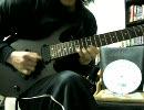 頑張ってギターの速弾きとアンジェロラッシュしてみました!