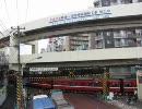 京急空港線@京急蒲田駅踏切の朝ラッシュ時の様子 その3