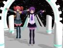 【UTAU+MMD】デフォ子・重音テトで『星間飛行』