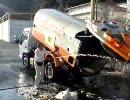 ごみ収集車洗浄