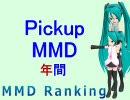 【MikuMikuDance】増刊Pickupランキング (年間)【MMD 2周年】