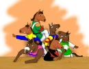 【三冠馬で】さんかんび【ほのぼのマンガ】