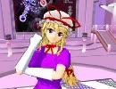 【MMDユーザーモデル】八雲紫を作ったので『Phantasm Brigade』