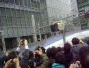 2/27 500系新幹線のぞみ29号 東京駅入線