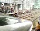 2010.2.28 新幹線500系JR東海区間ラストラン のぞみ29号東京駅発車