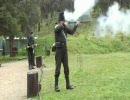 ベーカー・ライフルを5分間に13発撃つ