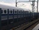1分間に4列車 by上牧駅