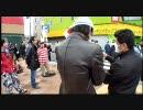 3月6日 京都 未納なのに年金を求める在日に抗議 ⑪