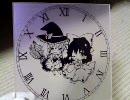 霊夢&魔理紗の時計