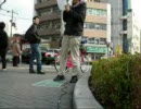あぬーが地下鉄昭和町駅前に現れた模様です。