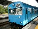 阪和線103系快速 日根野電車区入区